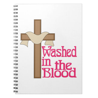 Washed In The Blood Notebook