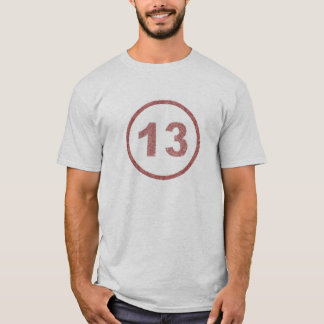 washed out 13 billiard ball T-Shirt