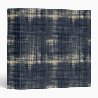 Washed Out Dark Blue Fabric Binders