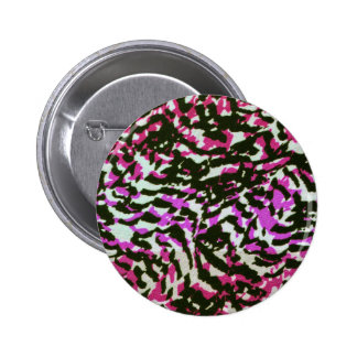 Washed Out Zebra Pattern Button