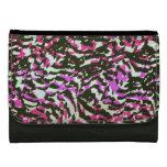 Washed Out Zebra Pattern Wallet