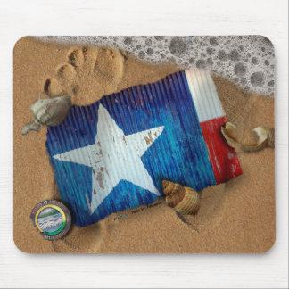 Washed Up Photos Art & Photos Mousepad -Texas#1