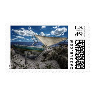 Washed Up postage stamp