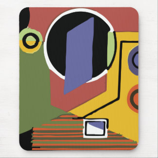 Washer in Abstract Mousepad
