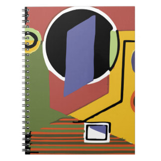 Washer in Abstract Notebook