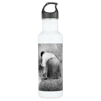 Washerwoman by Georges Seurat 24oz Water Bottle