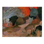 Washerwomen by Paul Gauguin Post Card