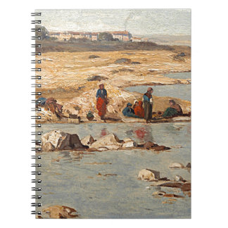 Washerwomen on the Banks of the Durance, 1866 Notebook