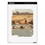 Washerwomen on the Banks of the Durance, 1866 Skin For iPad 3