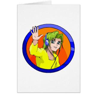 Washi Greeting Card