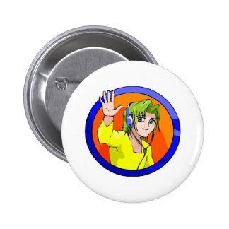 Washi Pinback Buttons