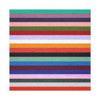 Washi Stripes Stretched Canvas Prints
