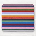 Washi Stripes Mouse Pad