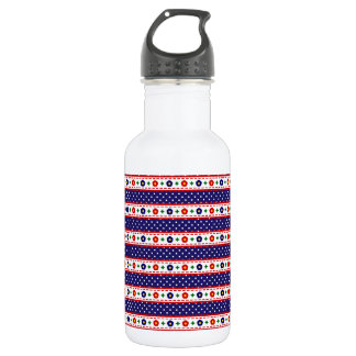 washi tape stainless steel water bottle