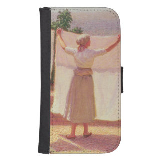 Washing in the Sun Phone Wallet