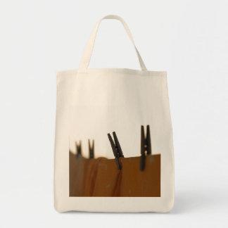 Washing line tote bag