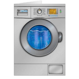 Washing Machine Card