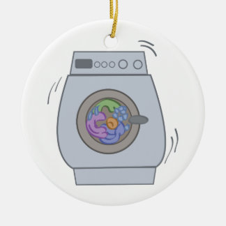 Washing Machine Ceramic Ornament