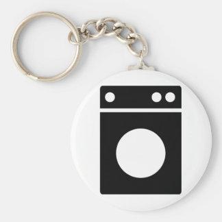 washing machine icon keychain