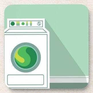Washing Machine Laundry Room Beverage Coaster