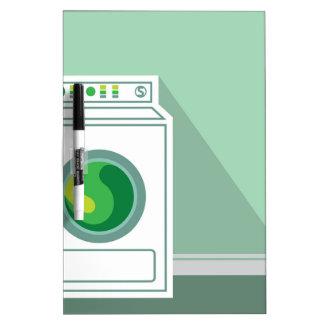 Washing Machine Laundry Room Dry-Erase Board