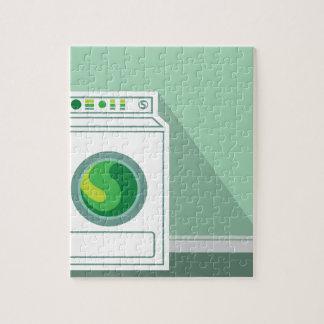 Washing Machine Laundry Room Jigsaw Puzzle