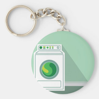 Washing Machine Laundry Room Keychain