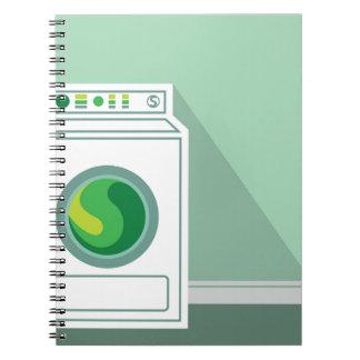 Washing Machine Laundry Room Notebook