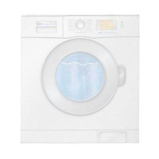 Washing Machine Notepads