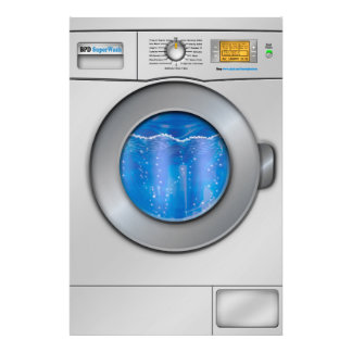 Washing Machine Photo Print