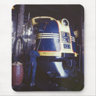 Washing the Locomotive Mouse Pad