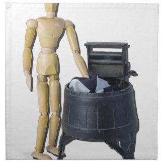 WashingClothesVintageWringers011815 Cloth Napkin