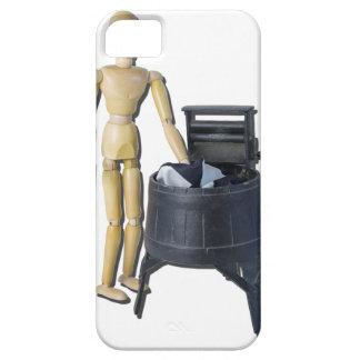 WashingClothesVintageWringers011815 Funda Para iPhone SE/5/5s