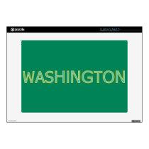 """Washington 15"""" Laptop For Mac & PC Skin"""