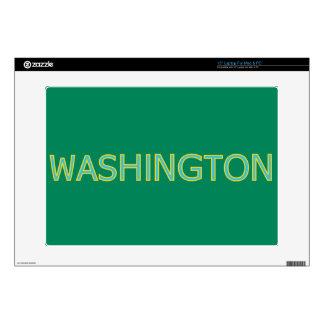 """Washington 15"""" Laptop For Mac & PC Skin Laptop Decals"""