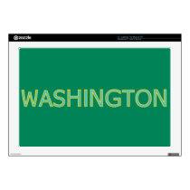 """Washington 17"""" Laptop For Mac & PC Skin"""