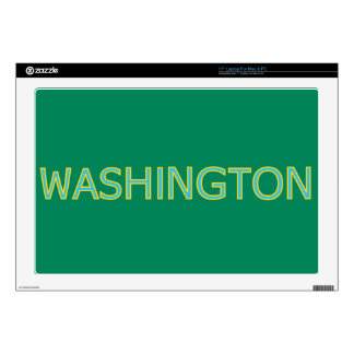 """Washington 17"""" Laptop For Mac & PC Skin Laptop Skin"""