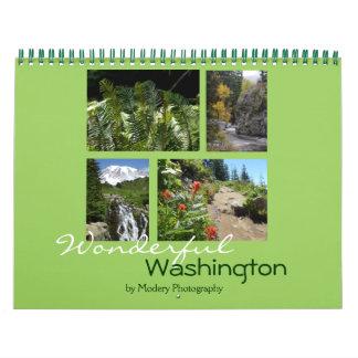 Washington 2017 calendarios de pared