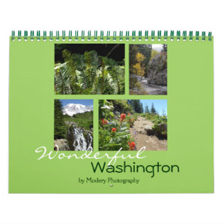 Washington 2018 calendar