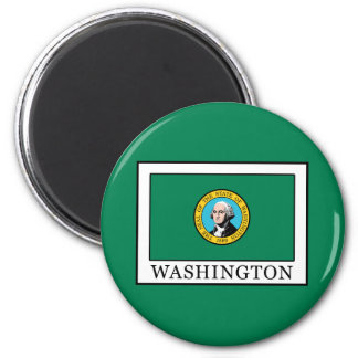 Washington 2 Inch Round Magnet