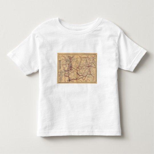 Washington 6 toddler t-shirt