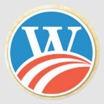 Washington - Adams 2008 Style W Sticker
