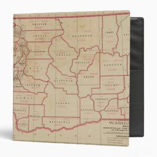 Washington agric, farm values, products, acreages 3 ring binder