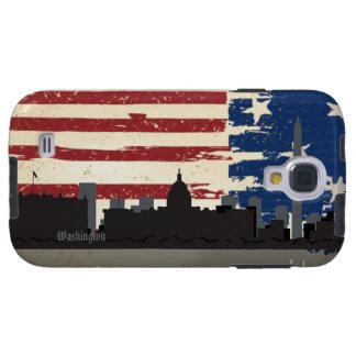 Washington American Cities CityScape Samsung  S4 C Galaxy S4 Case