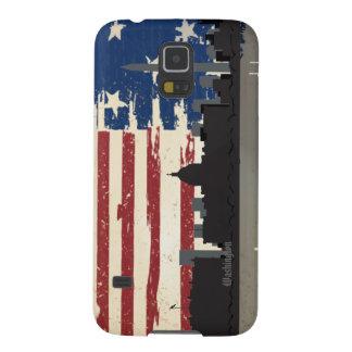 Washington American Cities CityScape Samsung S5 Galaxy S5 Cover