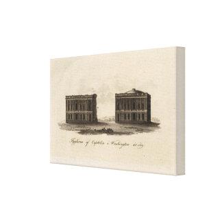 Washington and District of Columbia Canvas Prints