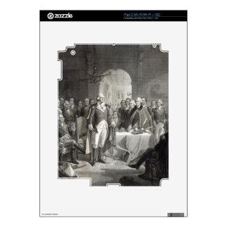 """""""Washington and Generals"""" iPad 2 custom skin iPad 2 Decals"""