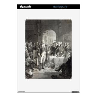 """""""Washington and Generals"""" iPad custom skin Decals For iPad"""