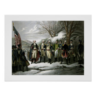 Washington and His Generals Poster