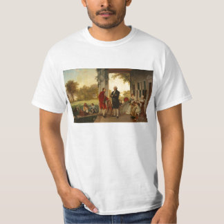 Washington and Lafayette at Mount Vernon 1784 T-Shirt